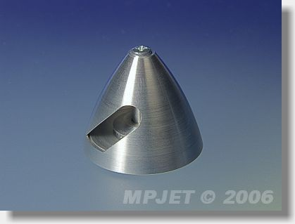 Kužel pevné vrtule ALU kompl. pr.30 (kleština pr.2,3 mm, M4)