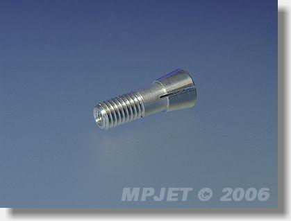 Collet for metal spinner 2,3 mm dia, M5 for middlepart...