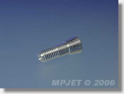Collet 3 mm dia, M6 for middlepart size 10x8