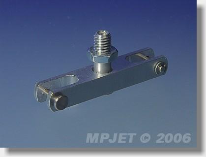 Aluminium middlepart hub (pitch 35; 8x6; slot 5; pin 2;...