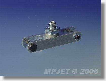 Aluminium middlepart hub (pitch 40; 10x8; slot 6; pin 3;...