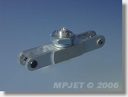 Aluminium middlepart hub (pitch 40; 12x8; slot 6; pin 2;...