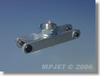 Aluminium middlepart hub (pitch 45; 12x8; slot 8; pin 3;...