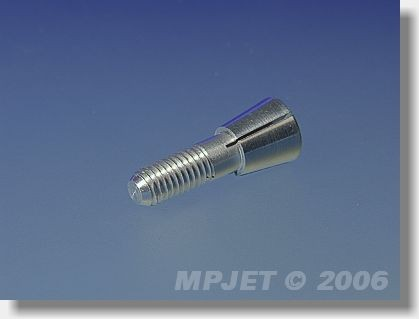 Collet 2 mm dia, M5/22, for prop adapters 14,5 mm dia