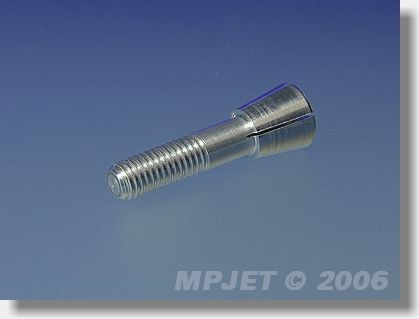 Collet 2 mm dia, M5/27, for prop adapters 14,5 mm dia