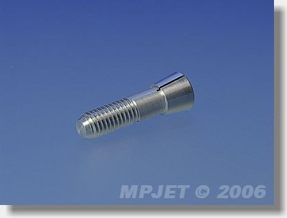 Collet 3,2 mm dia, M5/22, for prop adapters 12 mm dia