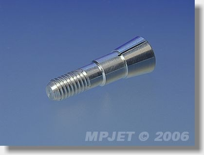 Collet 4 mm dia, M6/29, for prop adapters 19 mm dia