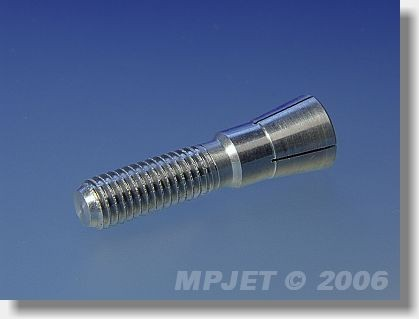 Collet 5 mm dia, M8/40, for prop adapters 28 mm dia