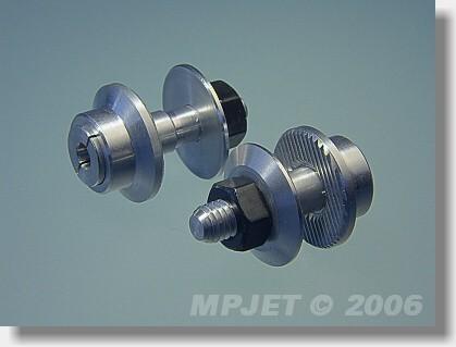 Collet prop adapter 14,5 mm, 2 mm shaft, M5/27-standard