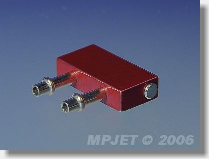 Water cooling for ESC 12x24 mm, height 5 mm