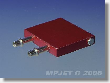 Water cooling for ESC 24x28 mm, height 5 mm