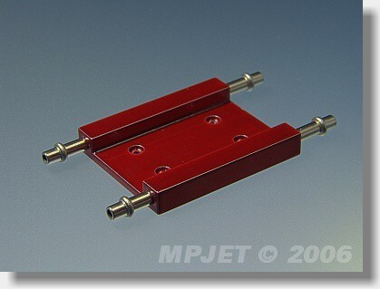 Water cooling for ESC 31x37 mm, height 5 mm