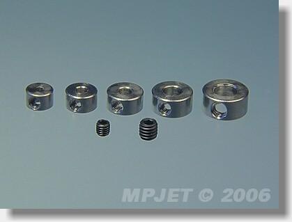 Brass wheel collar 3 mm