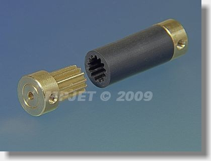 Spojka FLEXI 12, 3/2,3, délka 37 mm