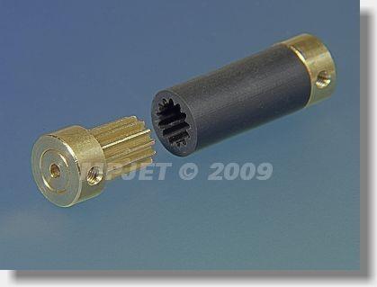 Spojka FLEXI 12, 3/3,2, délka 37 mm