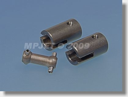 Steel middle part short (for 14 mm OD driver)