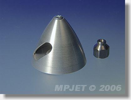 Metal spinner 30 mm dia, nut M4/M2,5