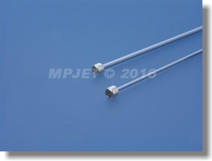 Needle valve extension 2 mm dia, length 100 mm