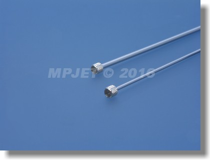 Needle valve extension 3 mm dia, length 100 mm