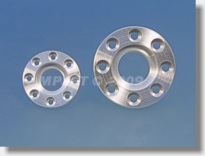 Scale flange for fueling valve small